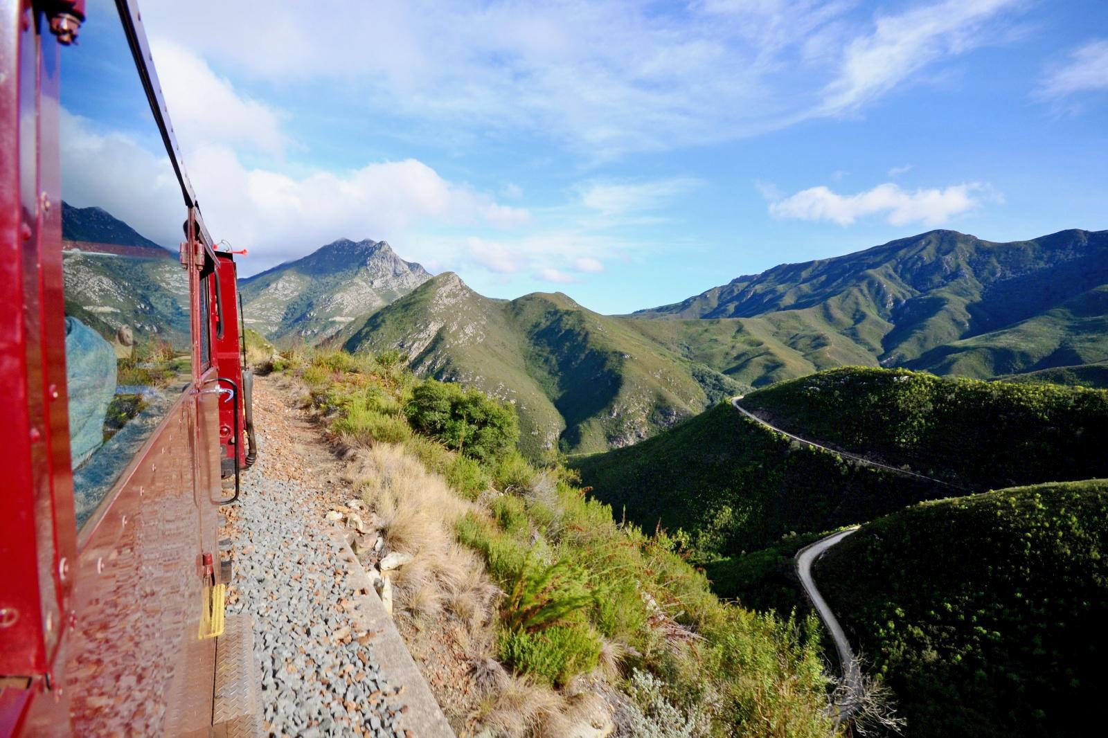 ガーデンルート 南アフリカの鉄道風景