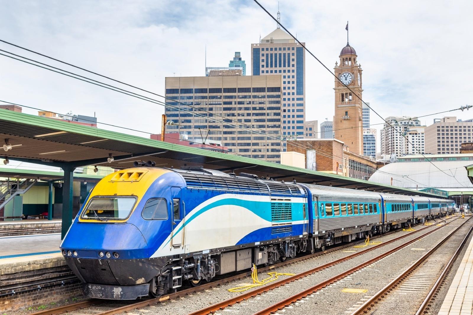 シドニー中央駅 オーストラリアの鉄道風景