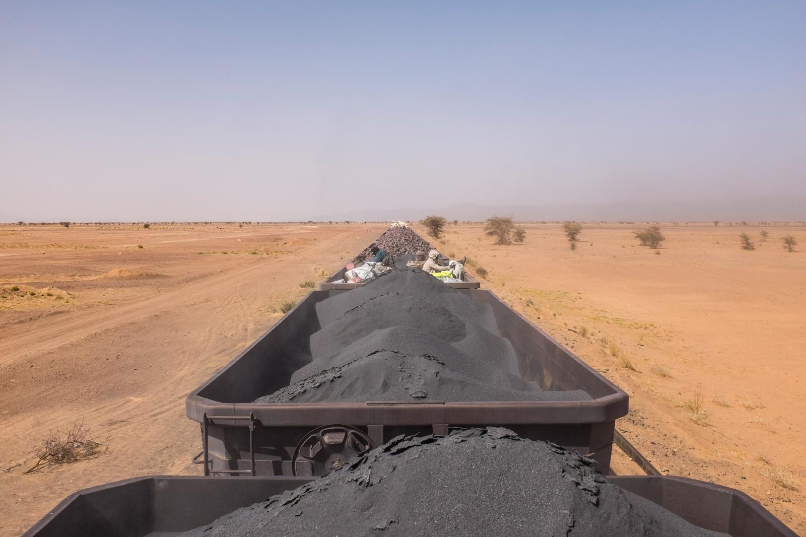 サハラをゆくモーリタニアの鉄道