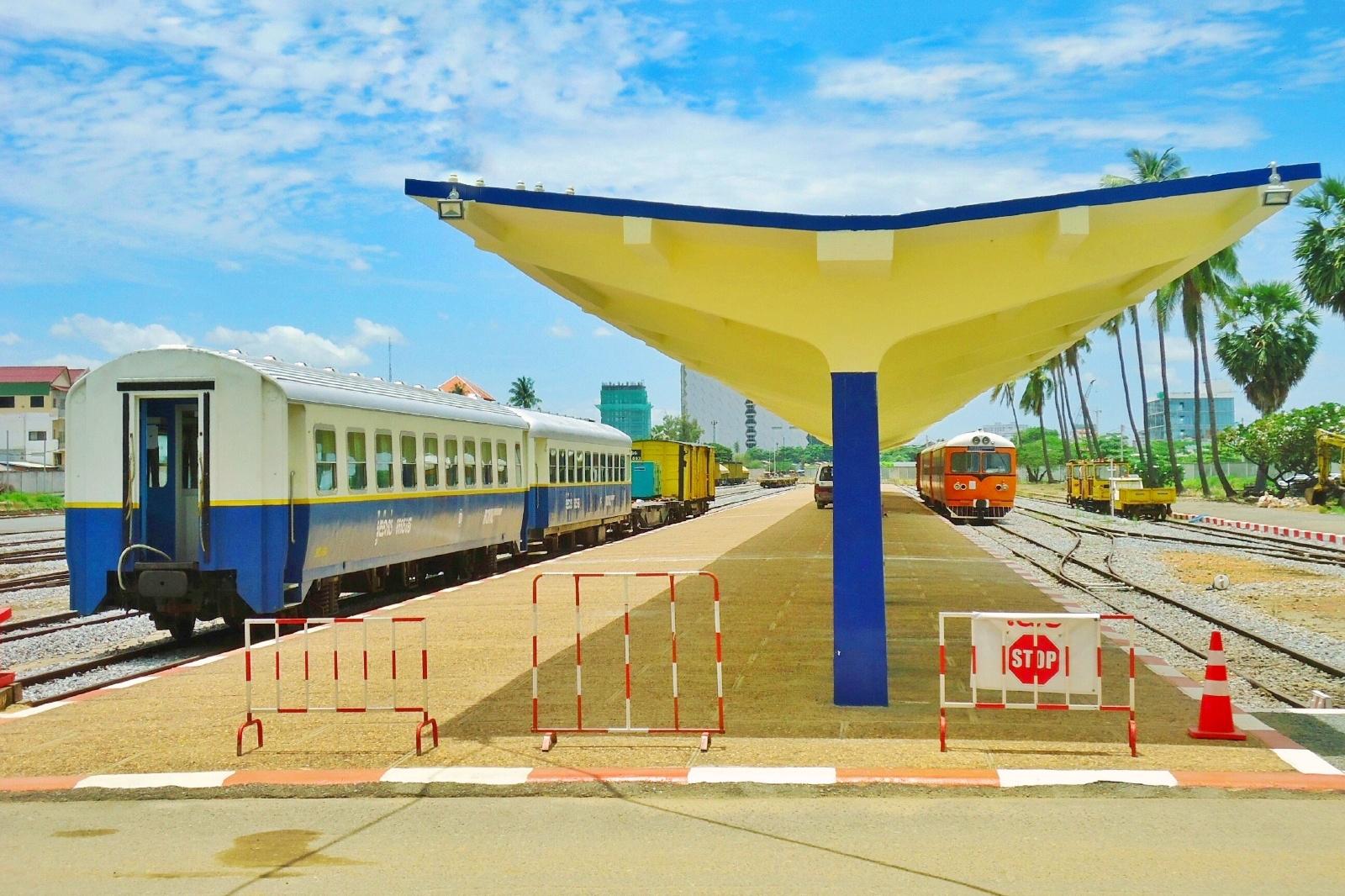 プノンペン – カンボジアの駅